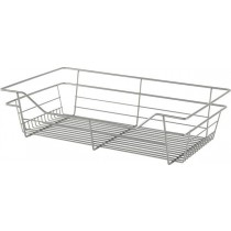 "Closet Wire Basket Chrome (24"" x 14"" x 6"") W x D x H"