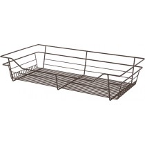 "Closet Wire Basket Oil-Rubbed Bronze (24"" x 14"" x 6"") W x D x H"