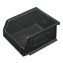 Omni Track - Small Black Storage Bin