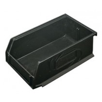 Omni Track - Medium Black Storage Bin