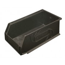 Omni Track - Large Black Storage Bin