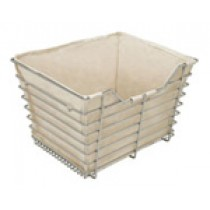 "Storage Baskets Cloth Liner (14"" x 29"" x 6"") D x W x H"